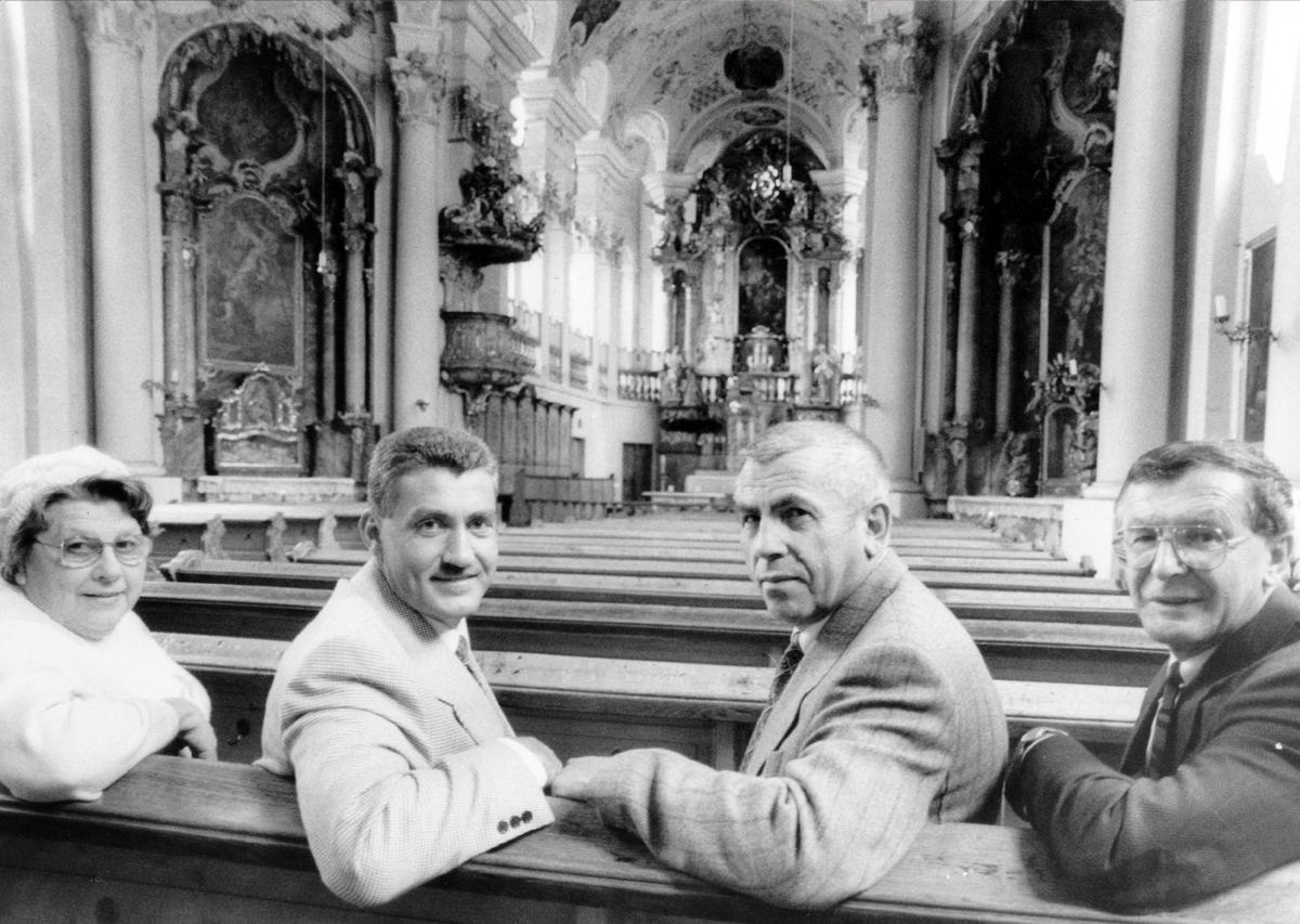 1. Vorstandschaft des Förderverein Frauenkirche Günzburg